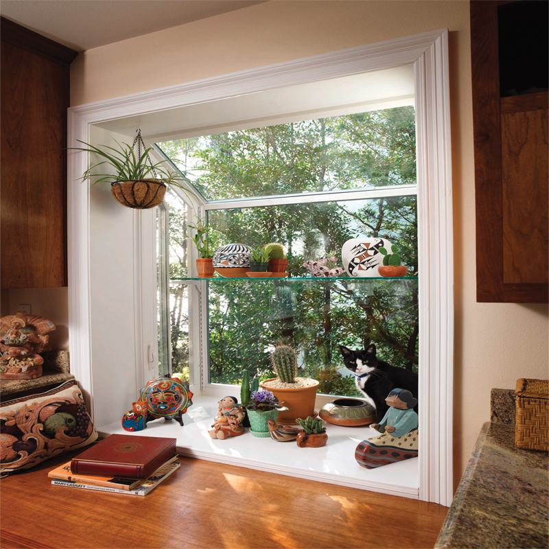 Series 2050 dp50 rated garden window ventana usa for Garden window