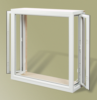 Series 2500 bay window