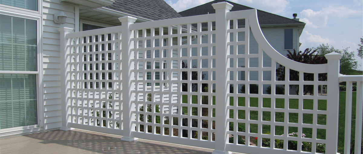 Ventana USA custom vinyl fence bending