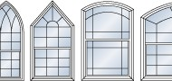 Single hung window drawings