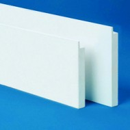 Exterior PVC window trim
