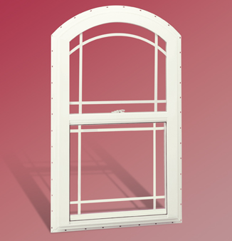 Arched Single-Hung Windows